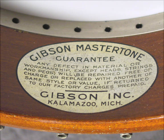 Gibson Mastertone Decal